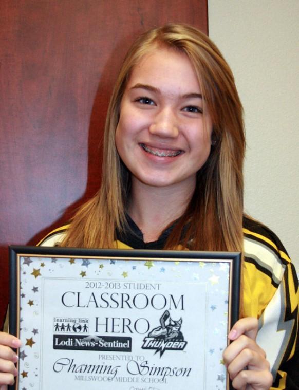 Millswood Middle School names Classroom Heroes