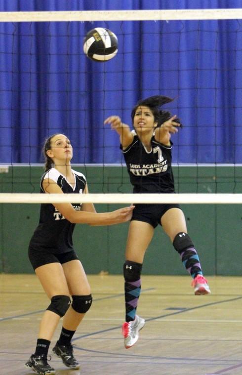 Tioga edges Lodi Academy in varsity volleyball