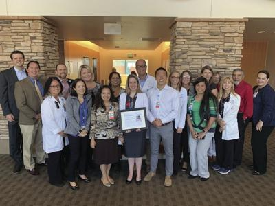 Lodi Memorial honored for stroke care