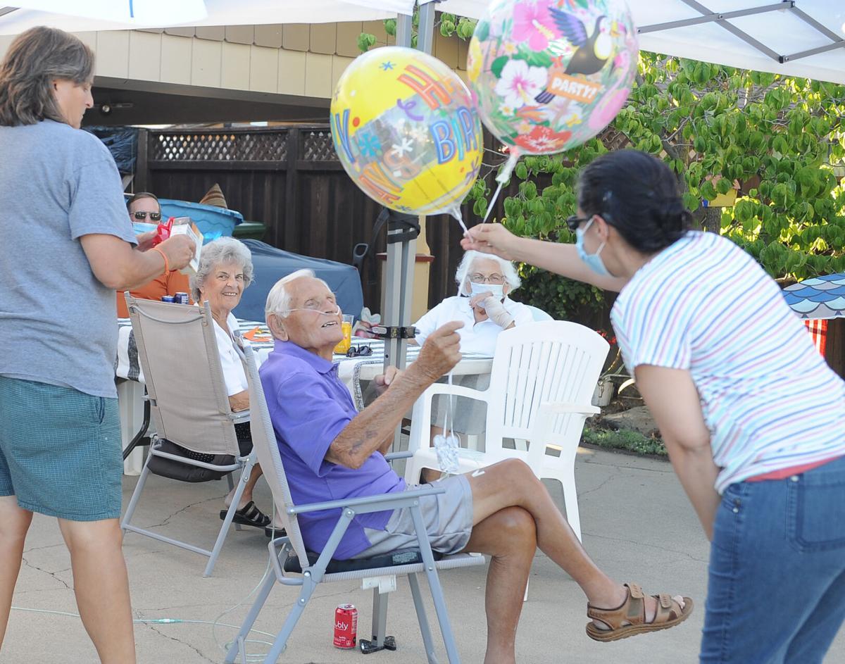 Lodi man celebrates birthday, COVID-19 recovery