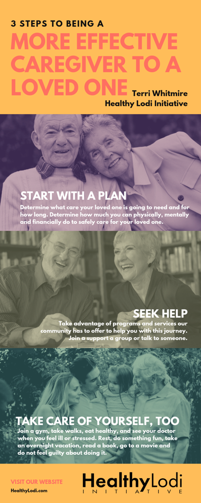 Healthy Lodi Initiative: How to be a better caregiver to a loved one