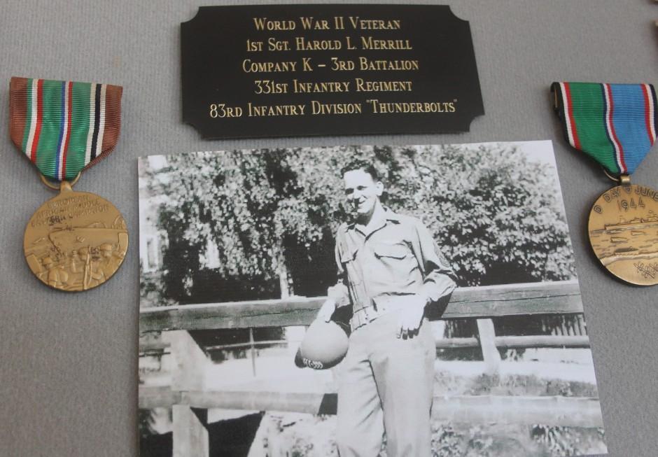 Big Christmas Eve surprise — Lodi's Harold Merrill gets Purple Hearts, Bronze Stars