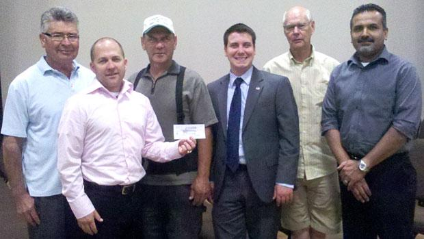 Real Men's Club holds August luncheon