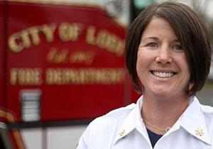 Aimee Murry promoted to division chief in Lodi Fire Department