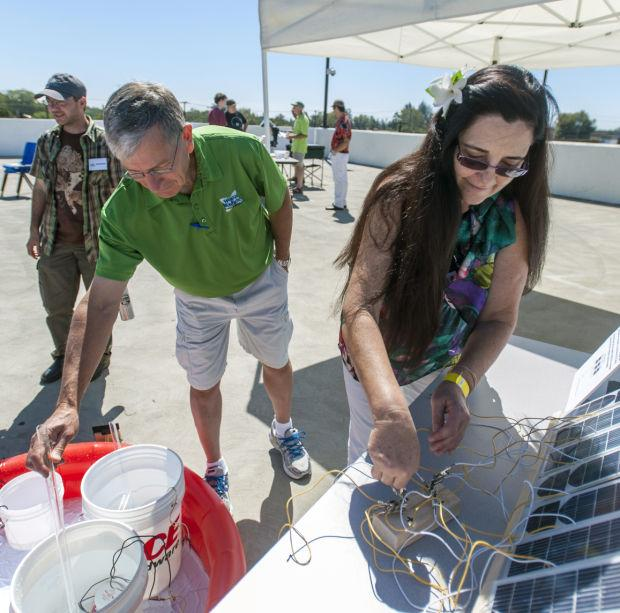 World of Wonders Science Musuem volunteer Jim Pyers inspires children with Solar Day