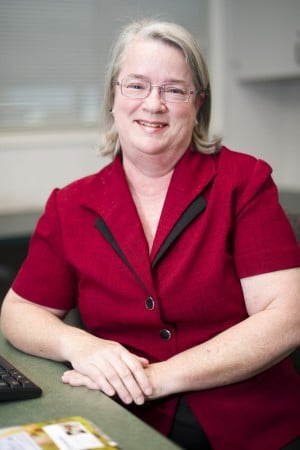 Kiwanis district governor-elect Rae Whitby-Brummer offers insight to services the club provides