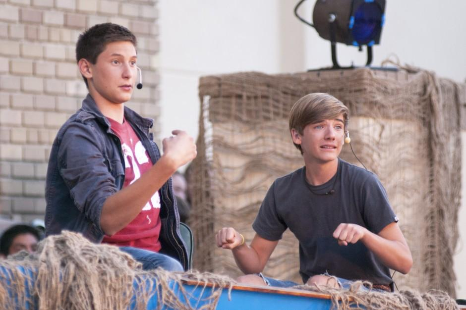 Teens tackle biblical tales, modern lessons
