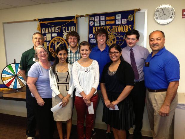 Kiwanis Club of Greater Lodi presents six scholarships