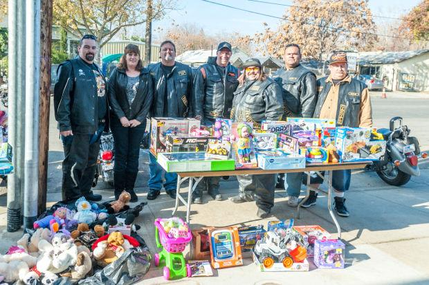 Straight Up motorcycle club holds first Jimmy Cavender Memorial Toy Run