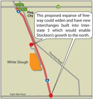 Lodi planners say proposal to widen freeway from Stockton ignores wastewater, power plant