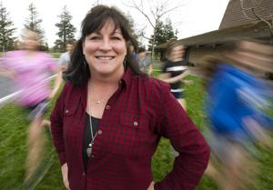 New Elliot Eagles track coach Jane Davis learning on the fly