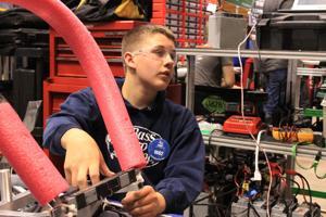 Jim Elliot Christian High School Robotics Team on way to world championship