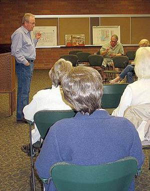 'Plainsong' author offers writing tips at library