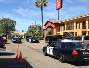 Man arrested at Cherokee Lane motel for threats