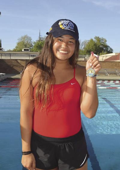 Athlete of the Week: Lodi's Liu springs, tucks and flips her way to state