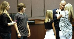 Four Lodi firefighters promoted at ceremony