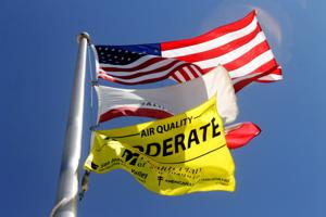 Air quality flags fly at some Lodi schools
