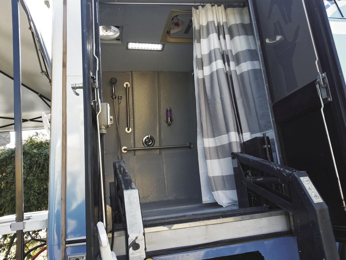 Mobile showers welcome homeless, disabled in Lodi