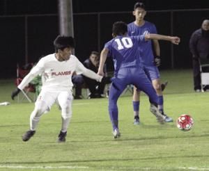 Boys soccer: Bruins light up the Flames in opener