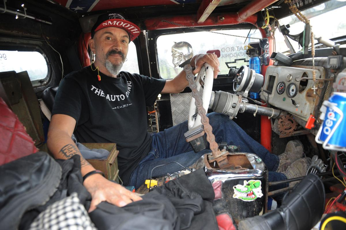 From Chile to Lodi: 'Rat rod' makes pit stop on way to Arctic Circle