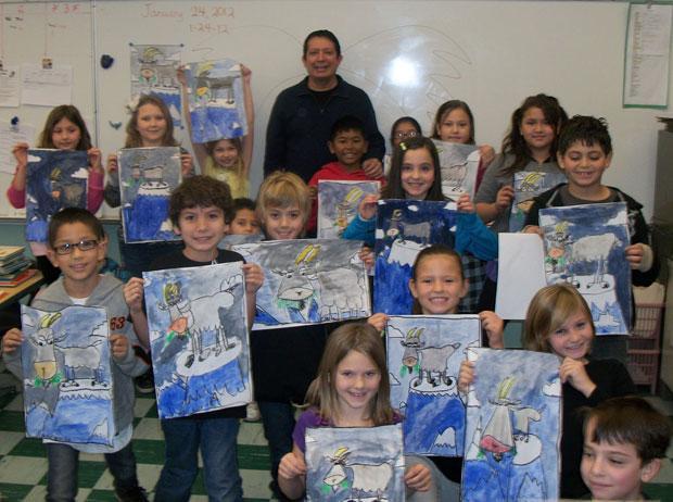 Oak View School loves Mario Tejada