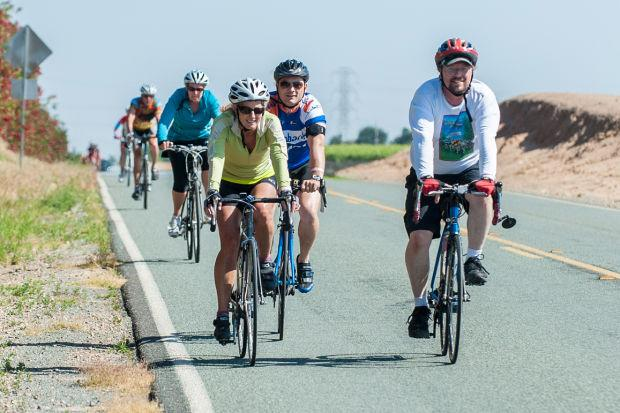 Lodi Sunrise Century bicycle ride