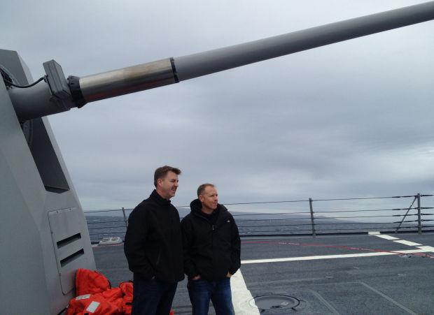 Two Lodi-area men spend day on destroyer to learn what Navy life is like