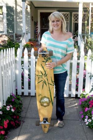 Lodi women embrace the longboard, and prove skateboarding is not just a boys' sport