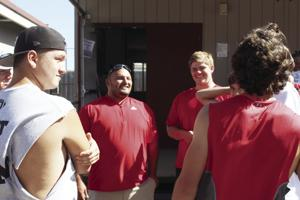 New Lodi football coach Duenas tells players to be ready to work