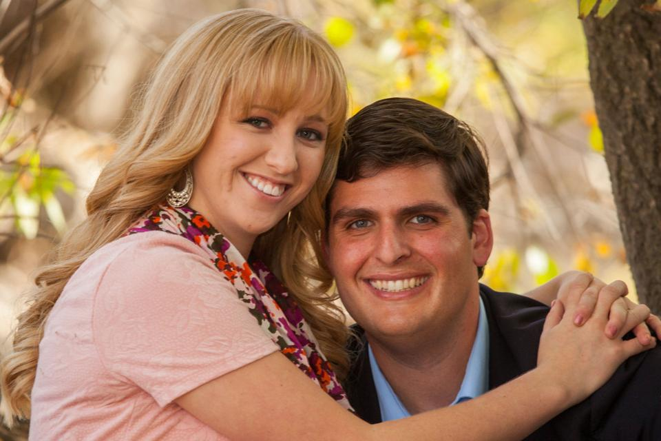 Andy Pierucci and Candice Backus were engaged last October in Salt Lake City