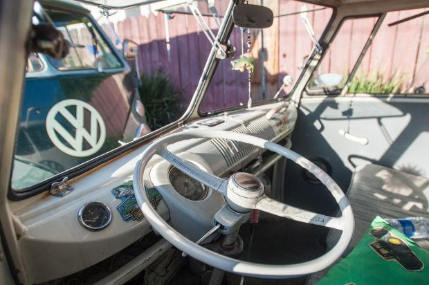 Fans of Volkswagens attend Cruise Night in Lodi