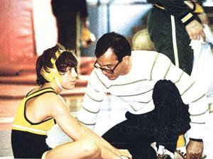 Former Lodi High athlete Dennis Helms starred on gridiron, but left his mark on the mat