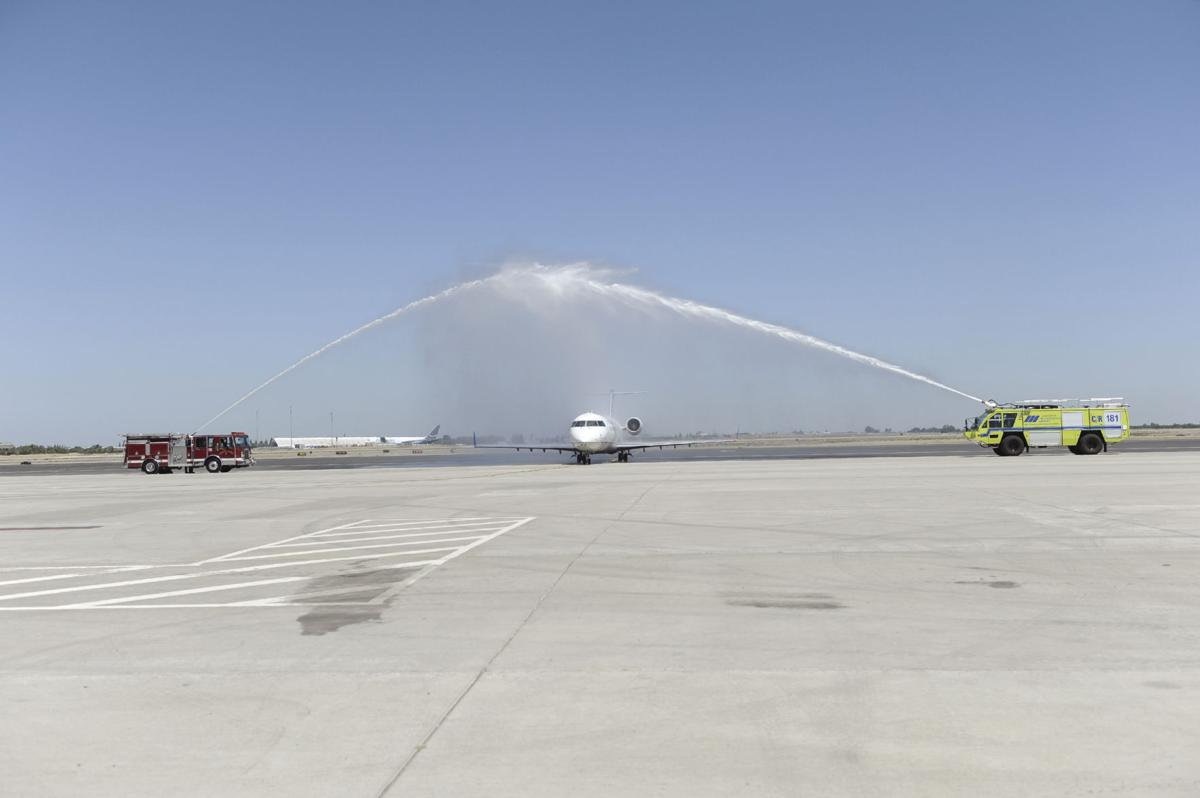 Jet service between Stockton and L.A. takes off