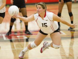 Lodi Flames seniors shine in volleyball victory over rival Tokay Tigers