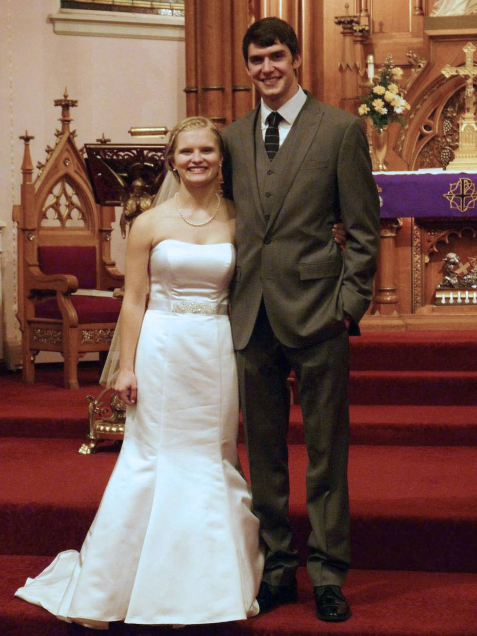 David Marquardt and Katherine Zabrowski were married in Wisconsin