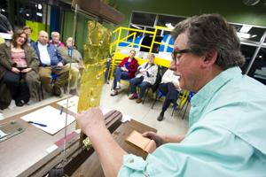 Lodi artist Tony Segale shows his craft at World of Wonders Science Museum