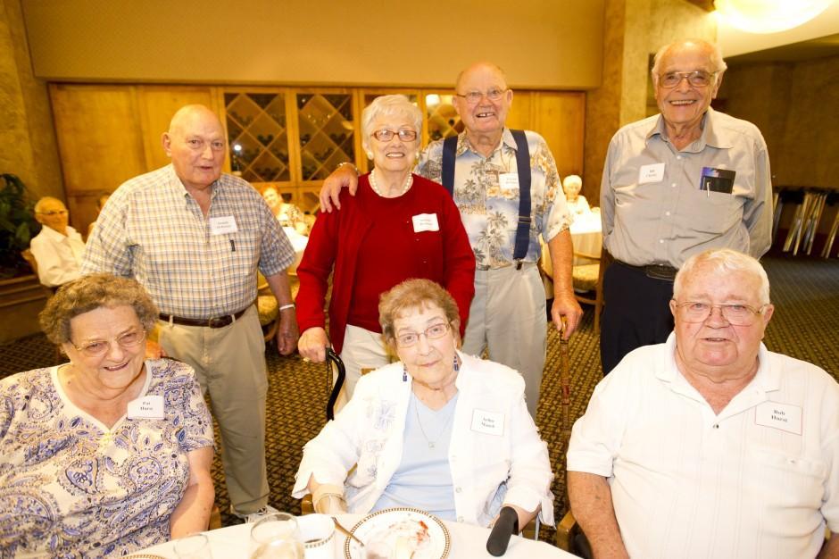 Lodi Union High School Class of 1942 reunion