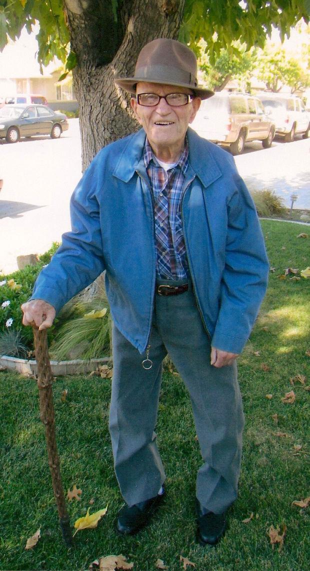 Ellis Carlson celebrates his 102nd birthday