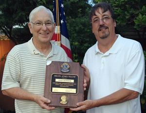 Lodi Lions Club honors members with fellowship award