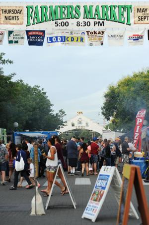 Downtown Lodi Farmers Market to kick off Thursday