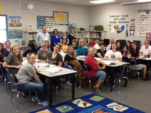 Lawrence Elementary School teachers receive Walmart gift cards