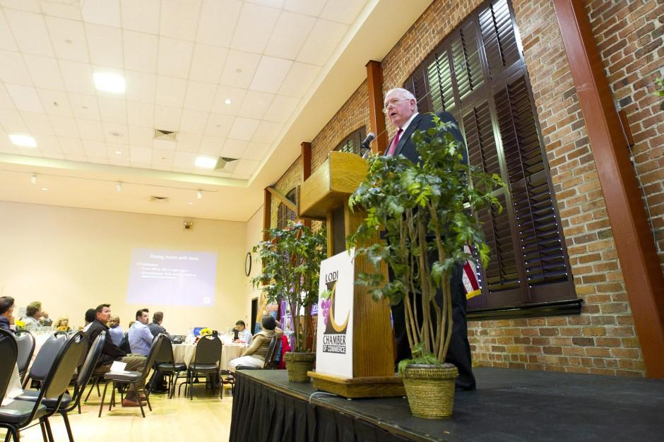 Mayor Bob Johnson focuses on new business, rising employee costs