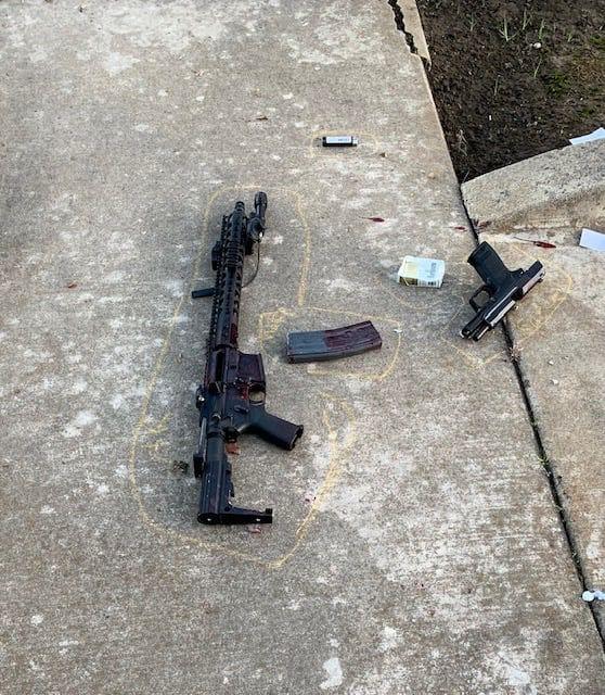 Suspected burglar shot during gunfight with Lodi police