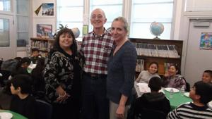 Lodi Rotary Club holds pizza party for Needham students