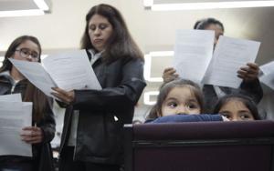 Lodi Lutheran church hosts its first Las Posadas