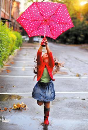 Conquering rainy days