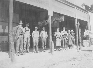 Frank Beckman, Hilliard Welch and Wilson Thompson store served Lodi in the early 1900s