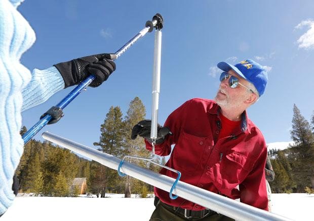 Annual snow survey in the Sierras confirms January and February are driest on record