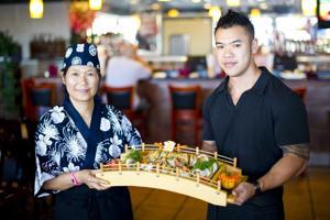 Sushi, sake, sashimi at Haru Sushi Bar