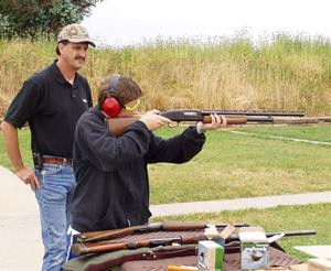 Hunter safety instructor Jim Uptegrove offers tips about the sport